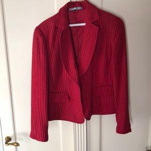 Red work jacket